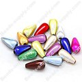 Miracle Beads Teardrop beads 6 *10mm , Mixed