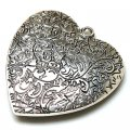 Pendants,Antique silver heart pendant,8*48*50mm Heart Pendant