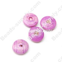 Wood Disc Bead 3x11mm