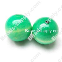Wood Round Bead 25mm