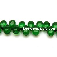 Glass Beads Pearl Shape 6x9 mm