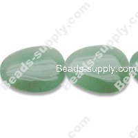 Light Aventurine 18x22mm Teardrop Shape Beads