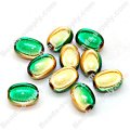 Miracle Beads Oval / Rice 8*11mm , Two tones