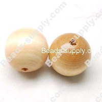 Wood Round Bead 20mm