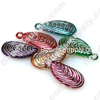 Beads,Loose beads,12*26mm drop shape,colorful beads with silverline sold of 720pcs