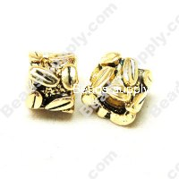 European Style Beads,18k Antique Gold,Bead