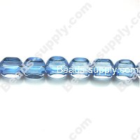Glass Beads 4 Faced 8x8 mm