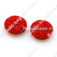 Lacquer carving Beads ,8*20mm