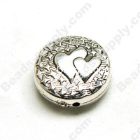 Antique Sliver Plating Beads 25mm*9mm