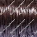 Beading wire,Korea waxy cord,24 gauges,coffee