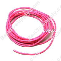 Leather Cord 2mm,Pink