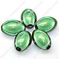 Miracle Beads Oval/Rice 9.5*14mm , Green