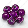 Miracle Beads Round 10mm , Amethyst
