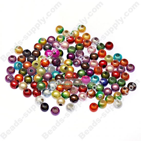 Miracle Beads Round 4mm ,Perle magiques Mixed Color - Click Image to Close