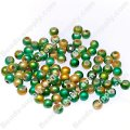 Miracle Beads Round 4mm , Two tones