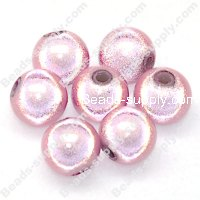 Miracle Beads Round 8mm , Pink
