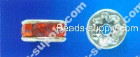 Strass Roundel Beads 8mm