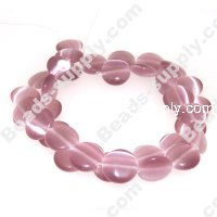 Cats Eye Coins Beads 12mm