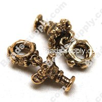 European Style Beads,18k Antique Gold,Dnlg Margarita