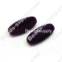 Fluffy Oval Beads 13x31mm