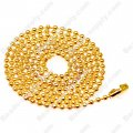 Metal ball chain,golden color