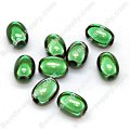 Miracle Beads Oval / Rice 8*11mm , Green