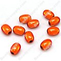 Miracle Beads Oval / Rice 8*11mm , Orange