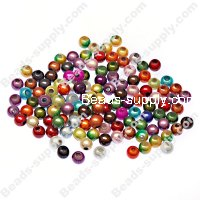 Miracle Beads Round 4mm ,Perle magiques Mixed Color