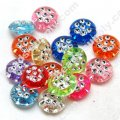 Spot Drill Beads 5mm*10mm,Mixed Color