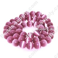 Cats Eye Round Beads 8mm