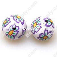 Fimo Round Beads 16mm