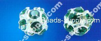 Strass Roundel Beads 10mm