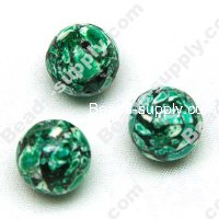 Synthetic Turquoise Round Beads