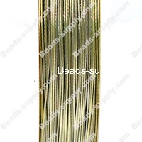 Beading wire,Tigertail,nylon-coated stainless steel,25 gauges,cream