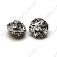 Casting Filigree Tube Bead 13*16mm