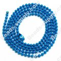 Colorful Ball chain 70CM,Blue