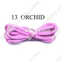 Cord, Bugtail, satin, orchid, 2mm.