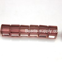 Glass Beads Cubic 8x8 mm