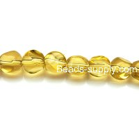 Glass Beads Triangle 8 mm
