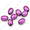 Miracle Beads Oval / Rice 8*11mm , Lt Amethyst