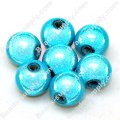 Miracle Beads Round 8mm , Aquamarine