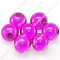 Miracle Beads Round 8mm , Fuchsia