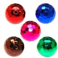 Beads,acrylic,UV plated 18mm faceted round UV coated plastic beads,color plated perles,sold of 135 Pcs
