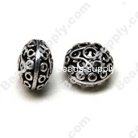 Casting Filigree Tube Bead 14*20mm