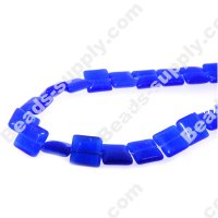 Cats Eye Square Beads 6mm
