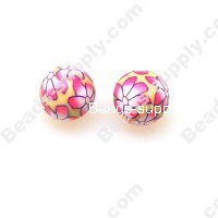 Fimo Round Beads 10mm