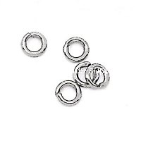Jumpring,Stainless Steel Open Ring, Round, 316 steel, 1*7mm, Sold by Bag