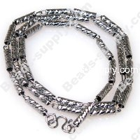 Linked Chain Necklace , 43 cms