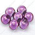 Miracle Beads Round 8mm , Lt Amethyst