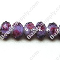 Briolette Lampwork Beads 11mm*14mm,Purple